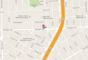 Location Map to our Corpus Christi Heartburn Treatment Center