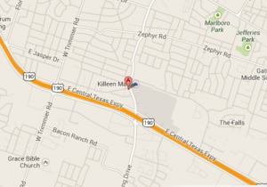 Location Map to our Temple Heartburn Treatment Center